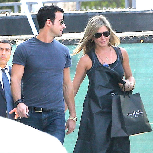 Jennifer Aniston and Justin Theroux in LA | Photos