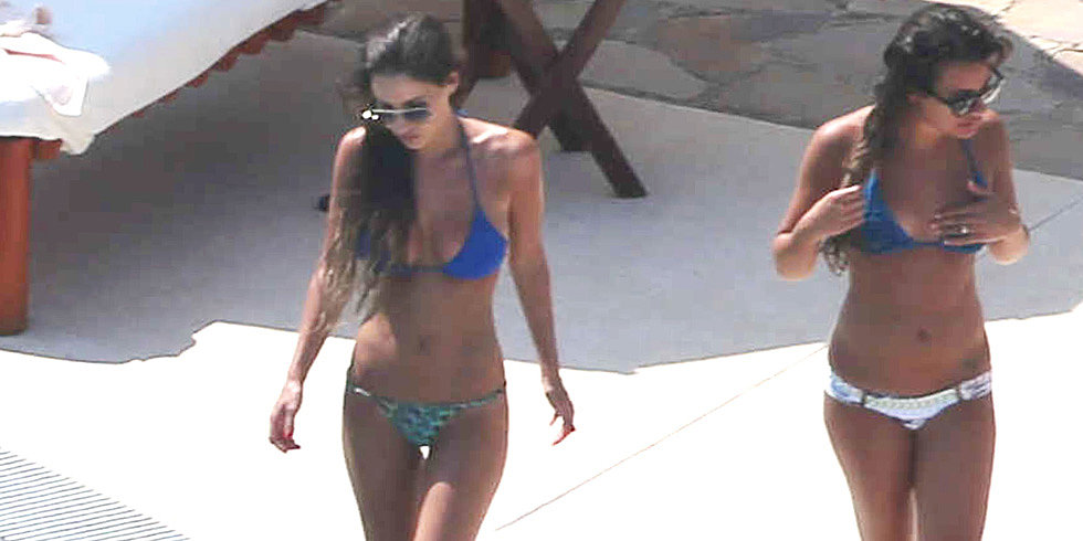 Bikini-Clad Lea Michele Soaks in the Sun South of the Border