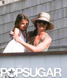 Katie Holmes and Suri Cruise spent the weekend on Long Island.
