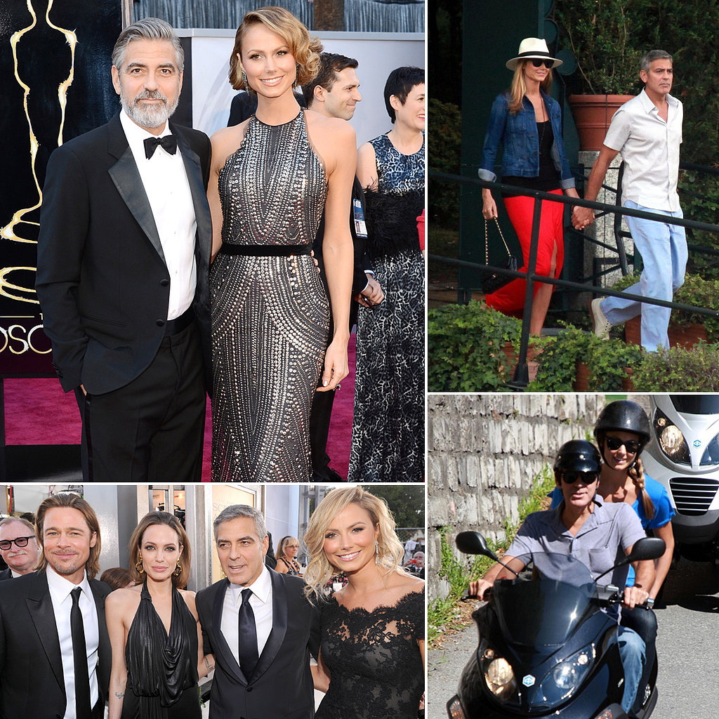 From the Oscars to Lake Como, See George and Stacy's Swankiest Dates
