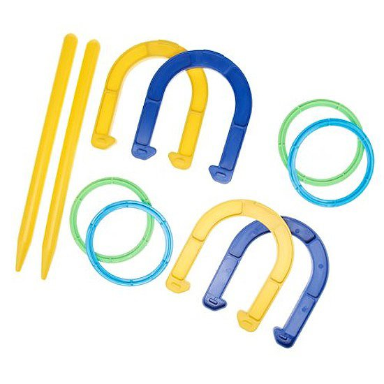 Superior Horseshoe and Ring Toss Combo Set