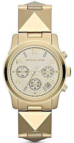 Michael Kors Pyramid Stud Runway Chronograph Watch, 38mm