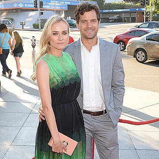 Diane Kruger and Joshua Jackson at The Bridge LA Premiere