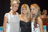 Paris Hilton towered over Jessica Simpson and Nicole Richie during the 2003 Billboard Music Awards.