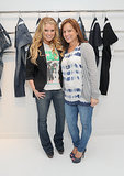 Tina Simpson joined Jessica Simpson at the launch of her denim line in June 2010.
