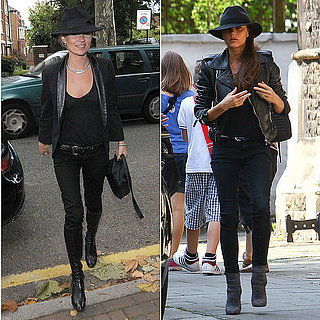 Victoria Beckham Dressing Like Kate Moss