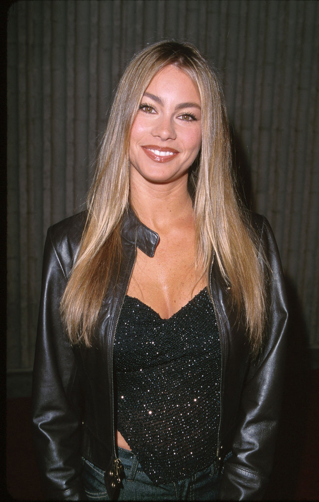 Back in 1999, a fresh-faced Sofia Vergara looked stunning with her natural blond locks and brows.