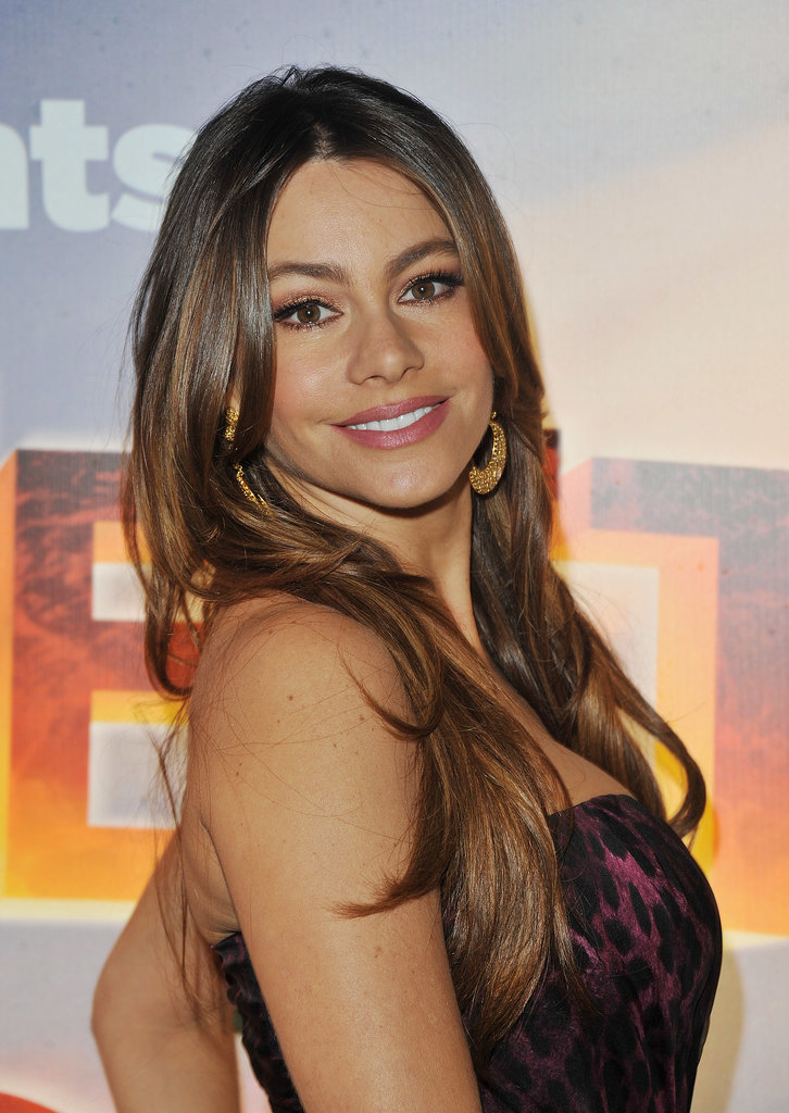 At the 2011 premiere of Happy Feet Two, Sofia went for a glamorous look with a silky blowout, bold brows, and a sexy smoky eye.