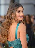 Sofia paired gorgeous, mermaid-esque waves and a smoky cat eye at the 2012 Emmy Awards.