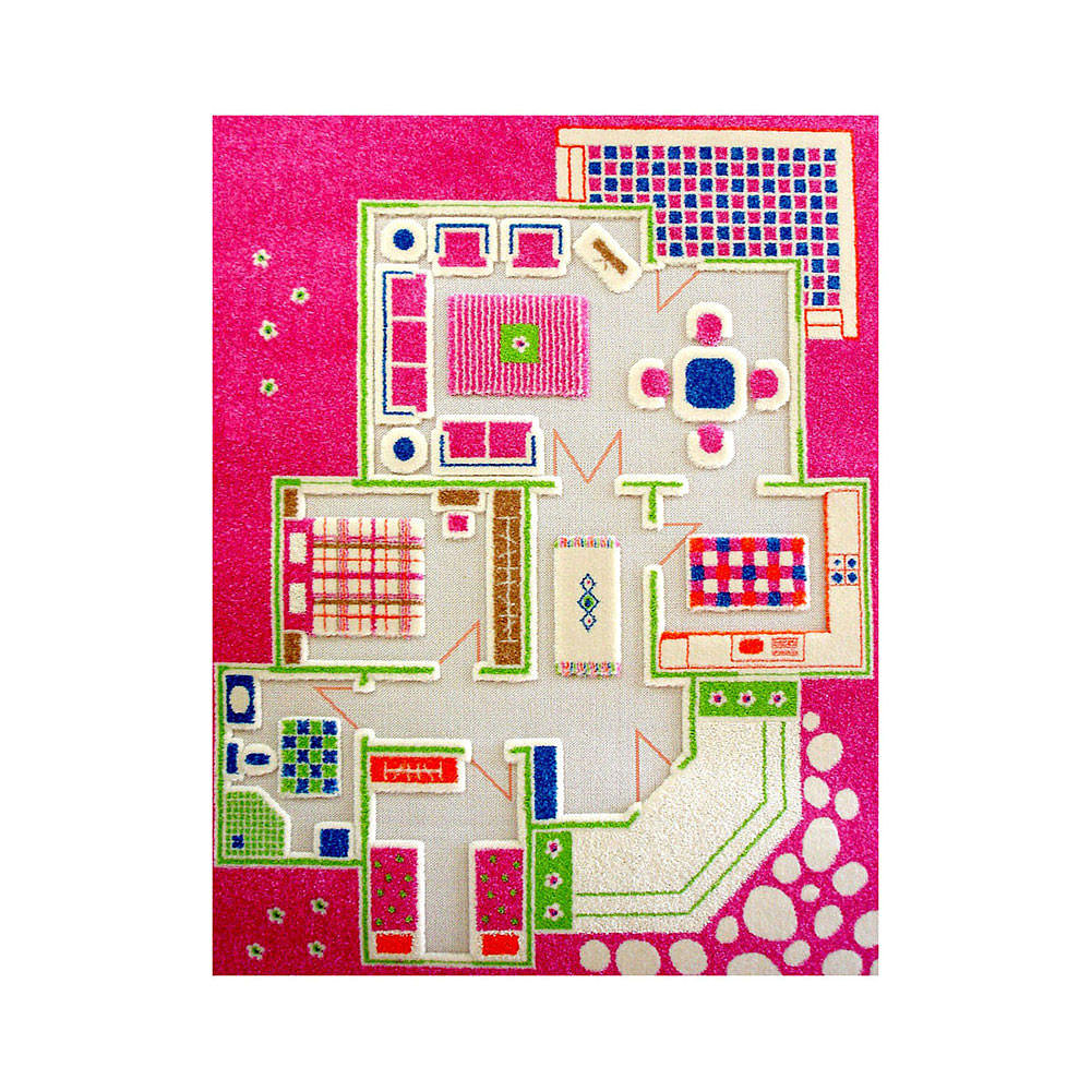 IVI Play House Pink Rug