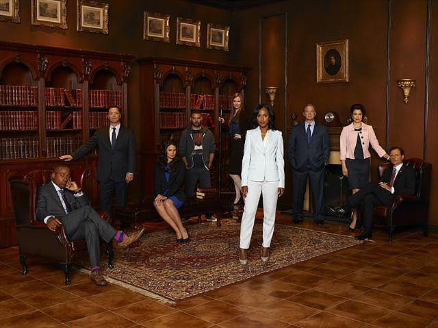 Scandal Two nominations total:  Outstanding lead actress in a drama series, Kerry Washington Outstanding guest actor in a drama series, Dan Bucatinsky