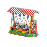 Wilesco Swing Boat Carnival Ride Toy