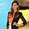 Jessica Alba in Skirt at Santa Monica Book Tour