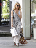 Sienna Miller went shopping.