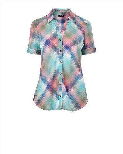 Cotton Madras Check Shirt