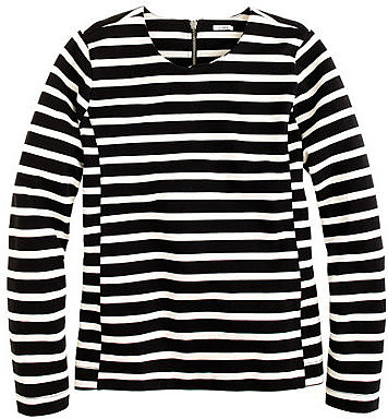 Side-seam sailor top