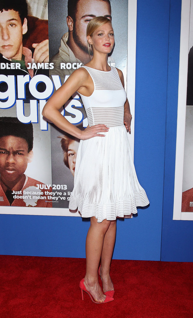 Erin Heatherton rocked a white number.