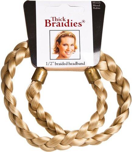 "Mia Thick Braidies 1/2"" Braided Headband"