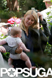Claire Danes brought baby Cyrus to the Homeland set in Charlotte, NC.