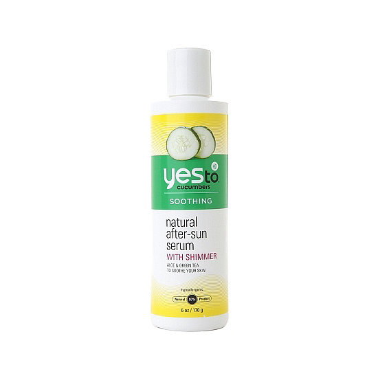 Yes to Cucumbers Natural After-Sun Serum ($10) helps your skin bounce back from too much time in the sun, and it's chock-full of aloe, sea kelp, and green tea to cool you down.
