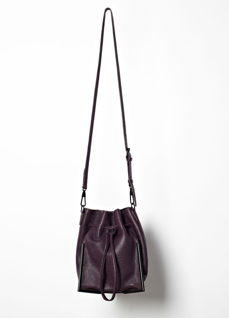 Also from 3.1 Phillip Lim, a drawstring crossbody bag ($750) we can see the masses falling for.