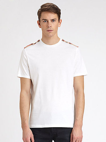 Burberry Brit Shoulder Check Tee