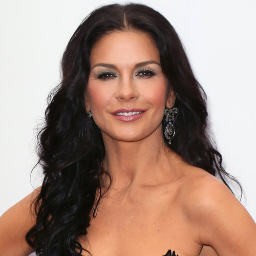 Catherine Zeta-Jones Metallic Smoky Eye