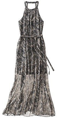 We love the allover print and the breezy semisheer skirt on this Mossimo woven maxi dress ($30).