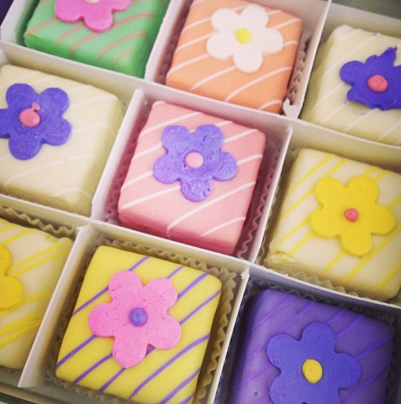 Colorful sweets always make the day go by faster.
