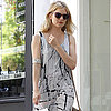 Sienna Miller Wearing Printed Maxi Dress