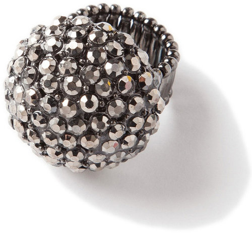 Lori's Shoes Rhinestone Bauble Ring