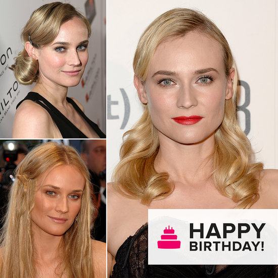 Celebrate Birthday Girl Diane Kruger's Best Beauty Looks