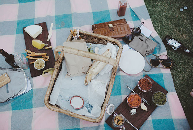 Head to a Potluck Picnic