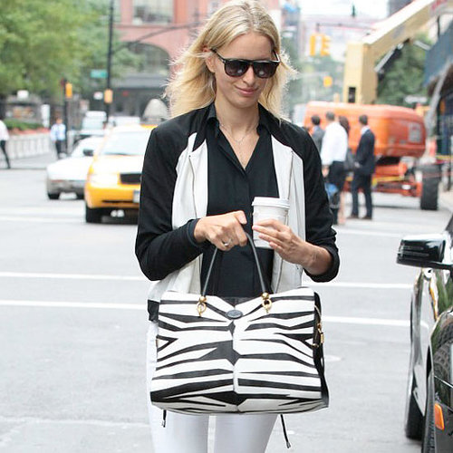 Karolina Kurkova's Best Model Off-Duty Street Style Looks