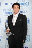 Cory Monteith held on to his People's Choice Award after the 2011 show.