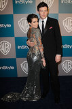 In January 2013, Cory Monteith and Lea Michele walked the black carpet together at the InStyle Golden Globes afterparty.