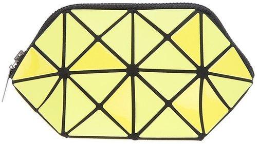 Bao Bao Issey Miyake geometric paneled clutch