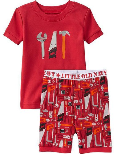 Tools-Graphic PJ Sets for Baby