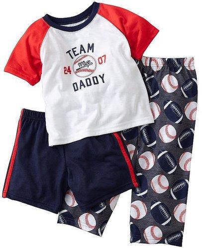Carter's team daddy pajama set - baby
