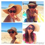 Nina Dobrev and her friends had a hat photo shoot.  Source: Nina Dobrev on WhoSay