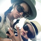 Nina Dobrev stumbled upon a really cool baby. Source: Nina Dobrev on WhoSay