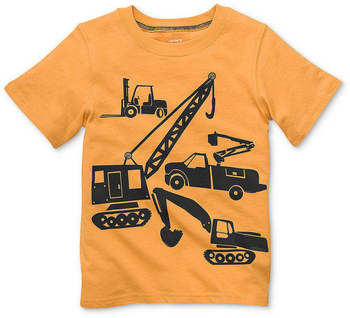Carter's Kids Shirt, Little Boys Graphic Truck T-Shirt