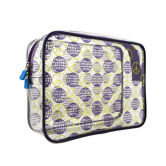 Your items will be in plain sight with the Window Seat Set World Peace makeup bag ($13, originally $45), and the print is spot on for the frequent traveler.