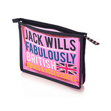Heading to London? Pack this see-through Jack Wills The Ludford Makeup Bag ($10, originally $15). The hot-pink color and text are stylish, while still keeping your cosmetics in full view.