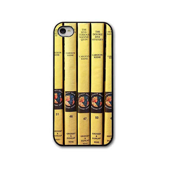 Honor your favorite amateur detective with a throwback Nancy Drew iPhone case ($32).