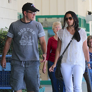 Matt Damon and Wife Luciana in Ojai, CA | Photo