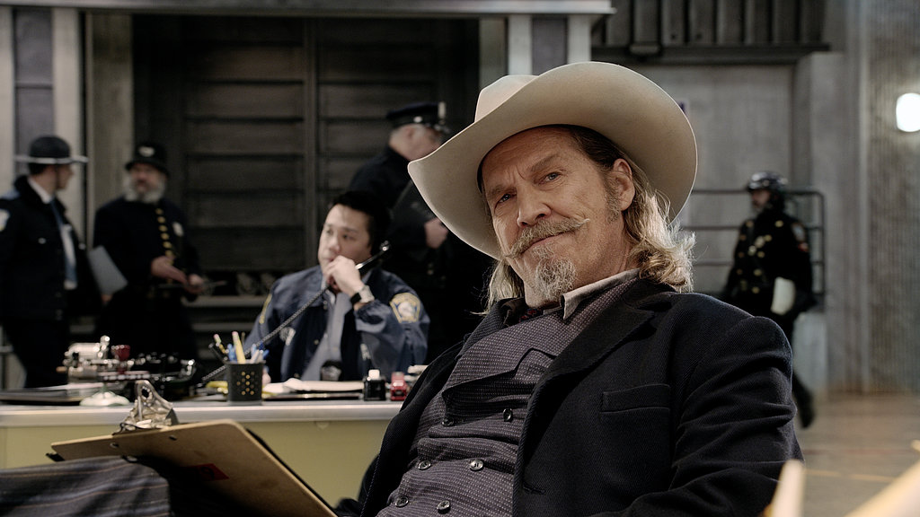Jeff Bridges dons a pretty impressive cowboy hat.