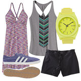 Cute Sporty Beachwear For an Active Summer Day