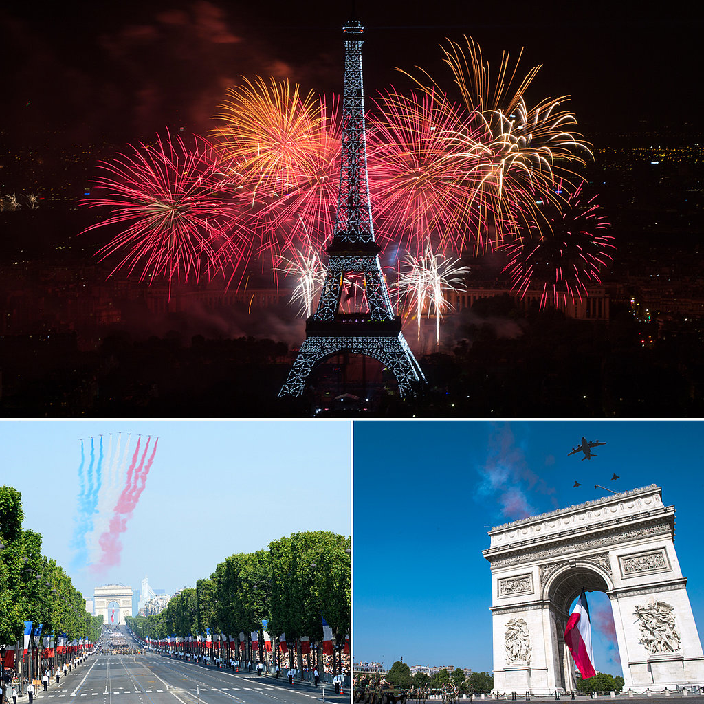 France Shows Its Blue, White, and Red Pride For Bastille Day