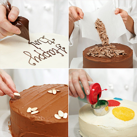 Easy CakeDecorating Ideas  POPSUGAR Food ~ 211702_Quick Cake Decoration Ideas